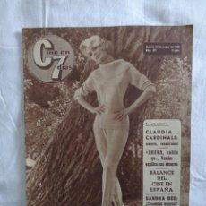 Cine: CINE EN 7 DIAS 1965 SANDRA DEE ~ CLAUDIA CARDINALE ~ NATALIE WOOD~ SHEILA ~ JOSELITO. Lote 276265228