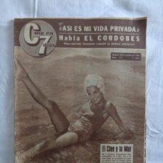 Cine: REVISTA CINE EN 7 DIAS 1964 --- MARISOL EN CONTRAPORTADA - MARTA MAY - EL CORDOBES -FERNANDO DELGADO. Lote 276265828