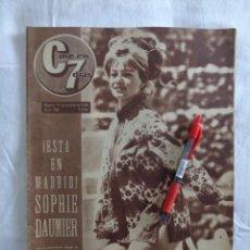 Cine: REVISTA CINE EN 7 DIAS Nº 184 -1964: CONTRAPORTADA MARISOL DESPUES DE LA OPERACION, JOSELITO .... Lote 276267603