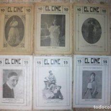 Cine: 1917 REVISTA EL CINE CONCHITA PINILLA LYDA BORELLI TILDE KASSAY ALBERTO COLLO FRANCIS FORD I. MOREN. Lote 276474123
