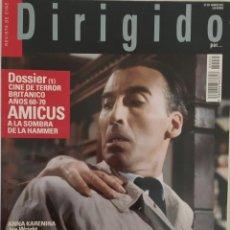 Cine: MAGAZINE DIRIGIDO 431 - ALMODOVAR - ANA KARENINA - AMICUS - PETER CUSHING. Lote 276477588
