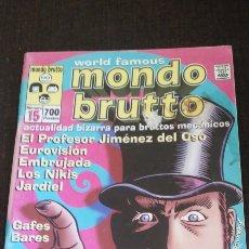 Cinema: FANZINE MONDO BRUTTO 15. Lote 276622688