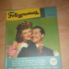 Cine: FOTOGRAMAS SUPLEMENTO Nº 1838 / FACSIMIL DEL Nº 1 / 15 NOVIEMBRE 1946 - DISPONGO DE MAS REVISTAS. Lote 276646253