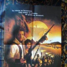 Cine: CARTEL DOBLE 40X60 APROX DE LAS PELICULAS: LA MOMIA Y VAMPIROS. Lote 276665803