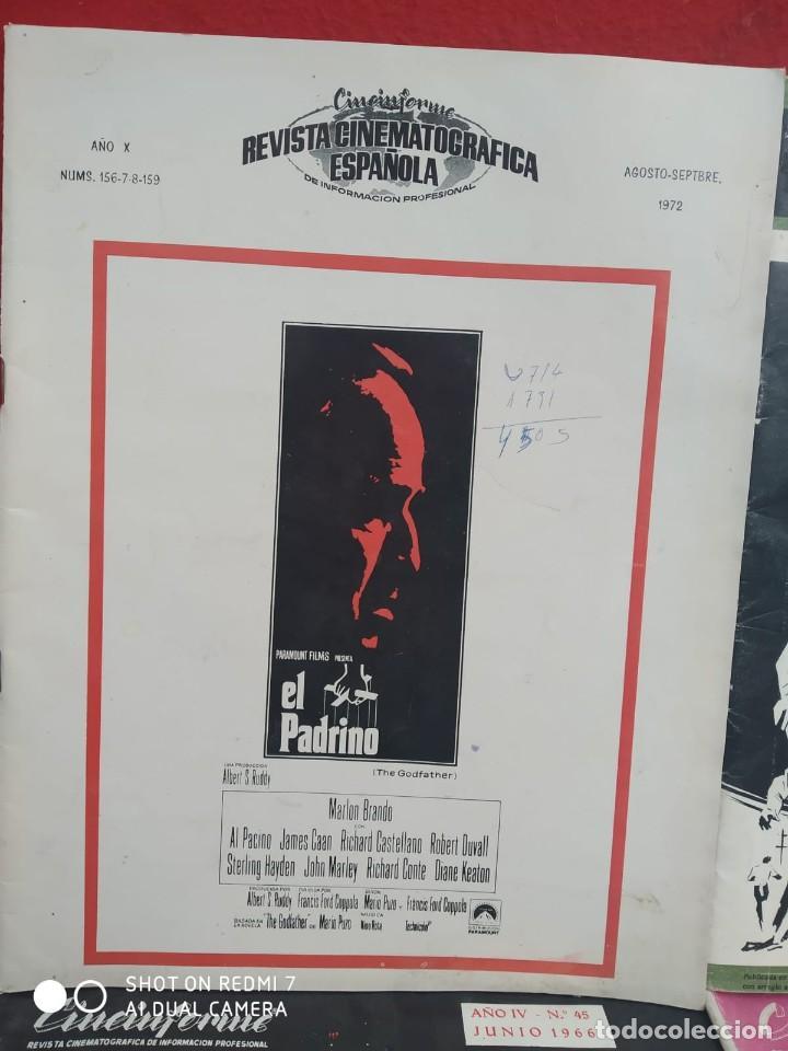 Cine: REVISTAS DE CINE ANTIGUAS CINEINFORME LOTE DE 60 UDS. AÑOS AÑOS 60/70 - Foto 6 - 277142498