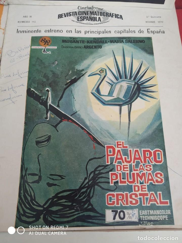 Cine: REVISTAS DE CINE ANTIGUAS CINEINFORME LOTE DE 60 UDS. AÑOS AÑOS 60/70 - Foto 11 - 277142498