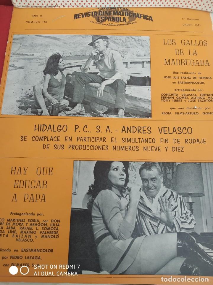 Cine: REVISTAS DE CINE ANTIGUAS CINEINFORME LOTE DE 60 UDS. AÑOS AÑOS 60/70 - Foto 14 - 277142498