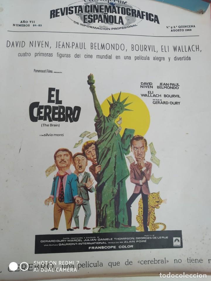 Cine: REVISTAS DE CINE ANTIGUAS CINEINFORME LOTE DE 60 UDS. AÑOS AÑOS 60/70 - Foto 21 - 277142498
