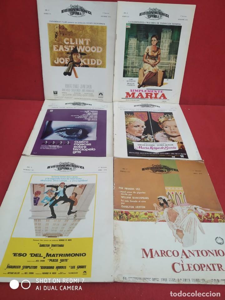 Cine: REVISTAS DE CINE ANTIGUAS CINEINFORME LOTE DE 60 UDS. AÑOS AÑOS 60/70 - Foto 22 - 277142498