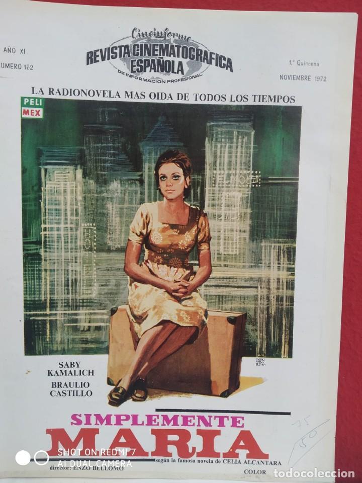 Cine: REVISTAS DE CINE ANTIGUAS CINEINFORME LOTE DE 60 UDS. AÑOS AÑOS 60/70 - Foto 26 - 277142498