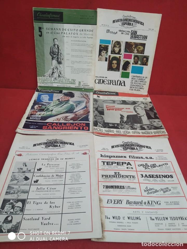 Cine: REVISTAS DE CINE ANTIGUAS CINEINFORME LOTE DE 60 UDS. AÑOS AÑOS 60/70 - Foto 29 - 277142498