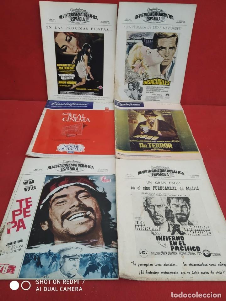 Cine: REVISTAS DE CINE ANTIGUAS CINEINFORME LOTE DE 60 UDS. AÑOS AÑOS 60/70 - Foto 36 - 277142498