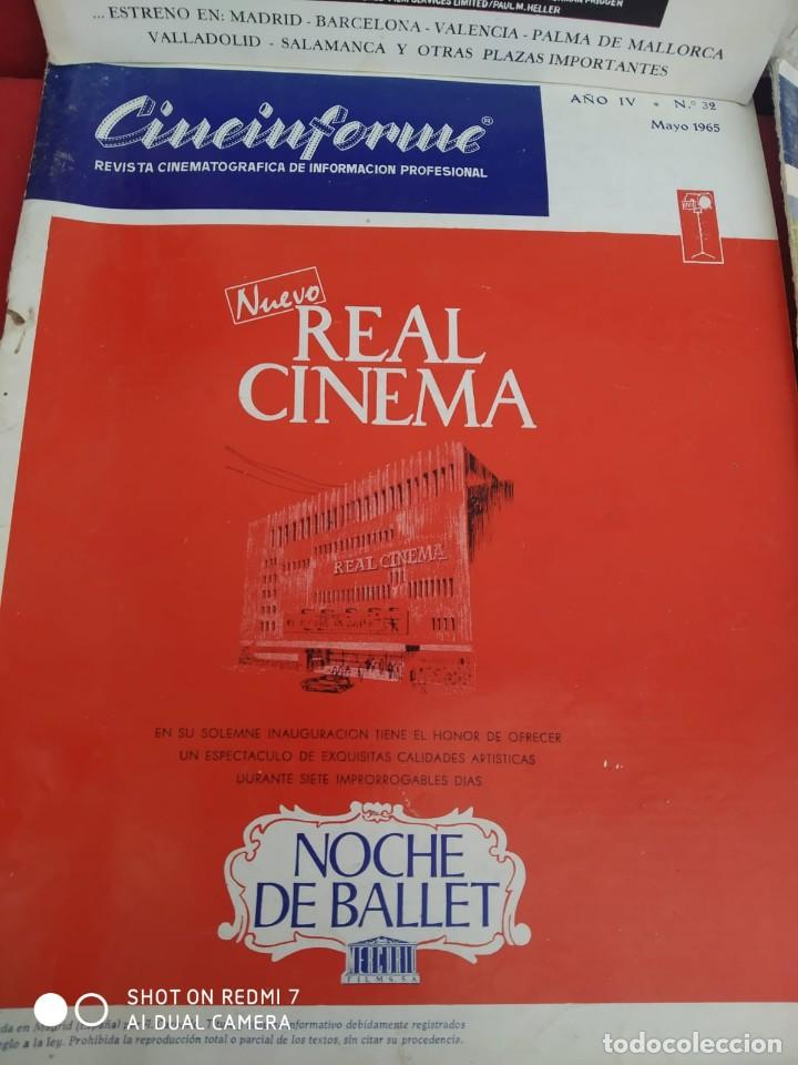 Cine: REVISTAS DE CINE ANTIGUAS CINEINFORME LOTE DE 60 UDS. AÑOS AÑOS 60/70 - Foto 37 - 277142498