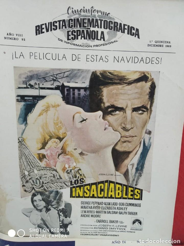 Cine: REVISTAS DE CINE ANTIGUAS CINEINFORME LOTE DE 60 UDS. AÑOS AÑOS 60/70 - Foto 38 - 277142498