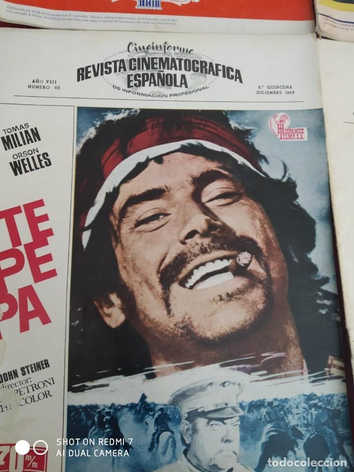 Cine: REVISTAS DE CINE ANTIGUAS CINEINFORME LOTE DE 60 UDS. AÑOS AÑOS 60/70 - Foto 41 - 277142498