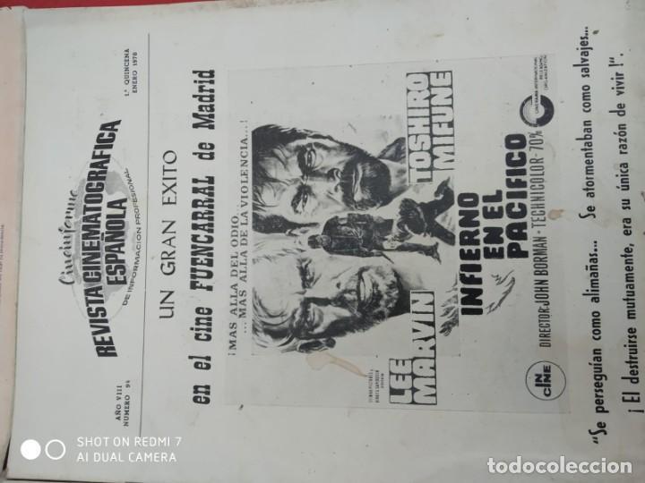 Cine: REVISTAS DE CINE ANTIGUAS CINEINFORME LOTE DE 60 UDS. AÑOS AÑOS 60/70 - Foto 42 - 277142498