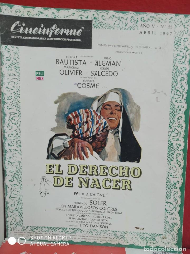 Cine: REVISTAS DE CINE ANTIGUAS CINEINFORME LOTE DE 60 UDS. AÑOS AÑOS 60/70 - Foto 45 - 277142498