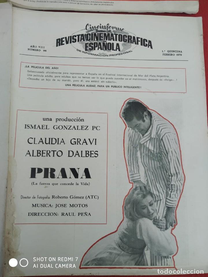 Cine: REVISTAS DE CINE ANTIGUAS CINEINFORME LOTE DE 60 UDS. AÑOS AÑOS 60/70 - Foto 49 - 277142498