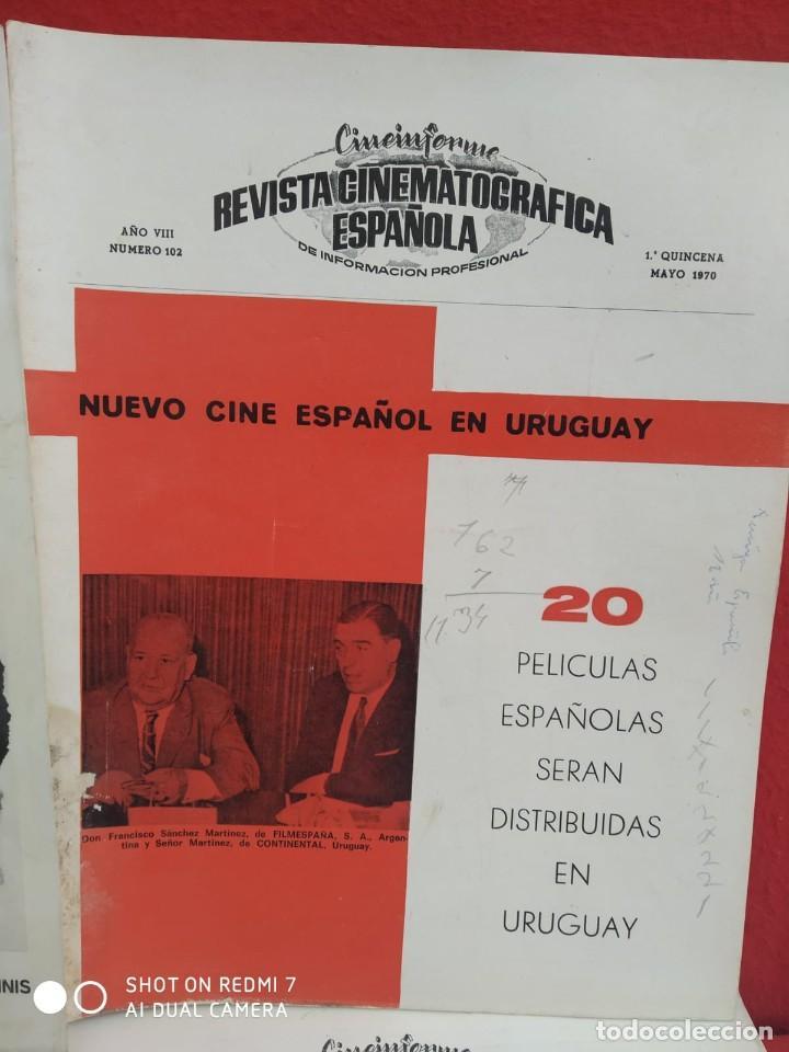 Cine: REVISTAS DE CINE ANTIGUAS CINEINFORME LOTE DE 60 UDS. AÑOS AÑOS 60/70 - Foto 51 - 277142498