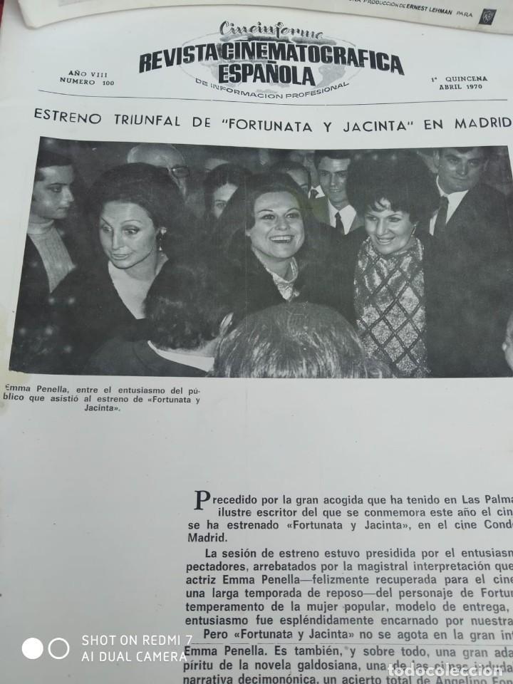 Cine: REVISTAS DE CINE ANTIGUAS CINEINFORME LOTE DE 60 UDS. AÑOS AÑOS 60/70 - Foto 52 - 277142498