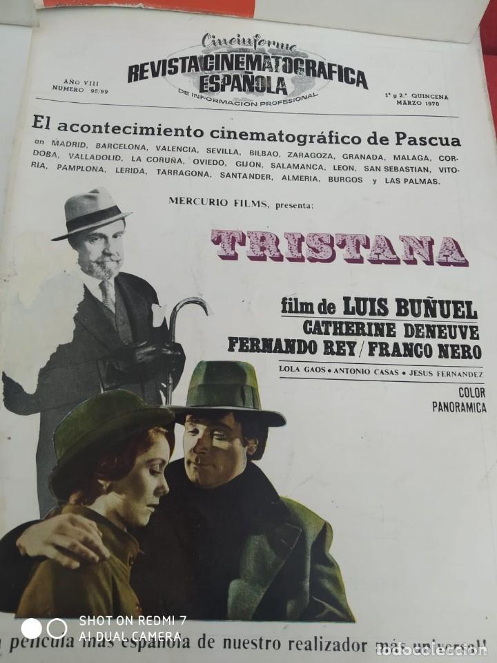 Cine: REVISTAS DE CINE ANTIGUAS CINEINFORME LOTE DE 60 UDS. AÑOS AÑOS 60/70 - Foto 53 - 277142498