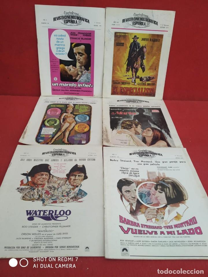 Cine: REVISTAS DE CINE ANTIGUAS CINEINFORME LOTE DE 60 UDS. AÑOS AÑOS 60/70 - Foto 57 - 277142498
