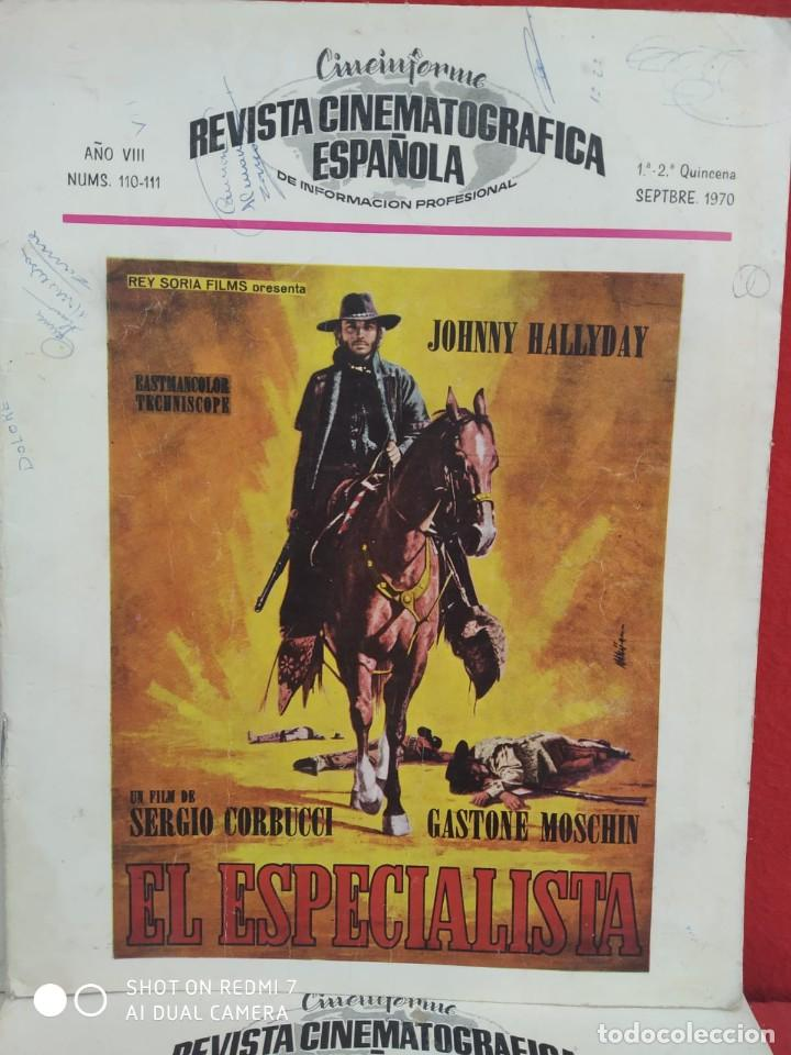 Cine: REVISTAS DE CINE ANTIGUAS CINEINFORME LOTE DE 60 UDS. AÑOS AÑOS 60/70 - Foto 59 - 277142498