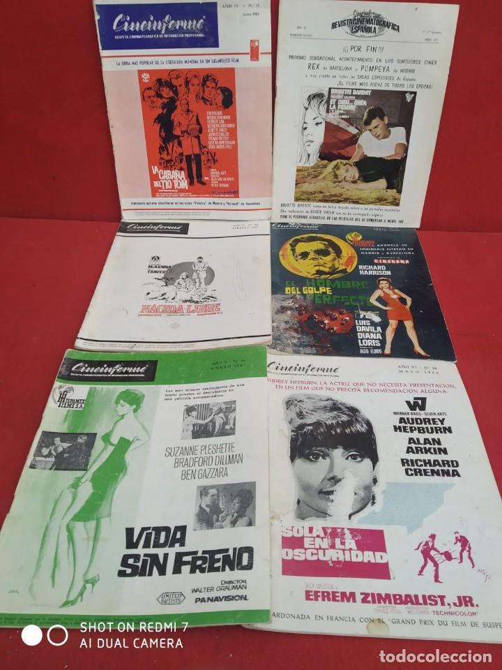Cine: REVISTAS DE CINE ANTIGUAS CINEINFORME LOTE DE 60 UDS. AÑOS AÑOS 60/70 - Foto 64 - 277142498