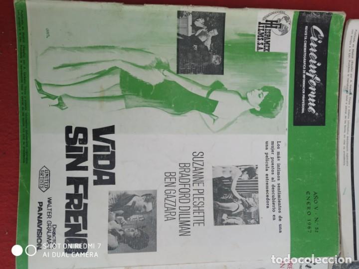 Cine: REVISTAS DE CINE ANTIGUAS CINEINFORME LOTE DE 60 UDS. AÑOS AÑOS 60/70 - Foto 69 - 277142498