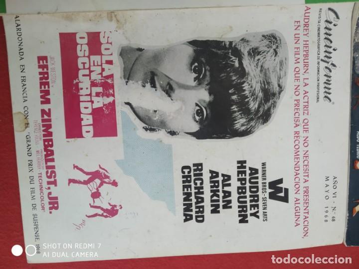 Cine: REVISTAS DE CINE ANTIGUAS CINEINFORME LOTE DE 60 UDS. AÑOS AÑOS 60/70 - Foto 70 - 277142498