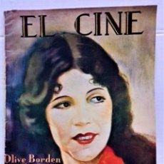 Cine: REVISTA EL CINE,NÚMERO EXTRAORDINARIO DICIEMBRE DE 1927,Nº 820.VER DESCRIPCIÓN.. Lote 277518683