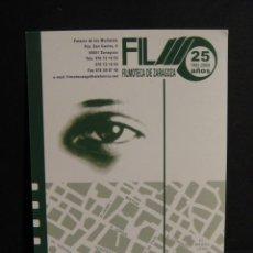 Cine: TARJETA FILMOTECA DE ZARAGOZA. Lote 277521803