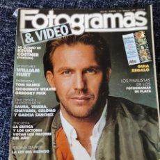 Cine: FOTOGRAMAS Nº 1749 FEBRERO 1989 KEVIN COSTNER, TOM HANKS, SIGOURNEY WEAVER, GREGORI PE. WILLIAM HURT. Lote 277611583