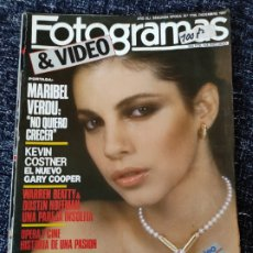 Cine: FOTOGRAMAS 1736, 1987 MARIBEL VERDU (MANTIENE SUPLEMENTO) MASTERS DEL UNIVERSO, VER FOTO ADICIONAL. Lote 277611953