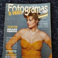 Cine: FOTOGRAMAS Nº. 1772 MARZO 1991 - MELANIE GRIFFITH / GERARD DEPARDIEU / JULIA ROBERTS / KEVIN COSTNER. Lote 277614438
