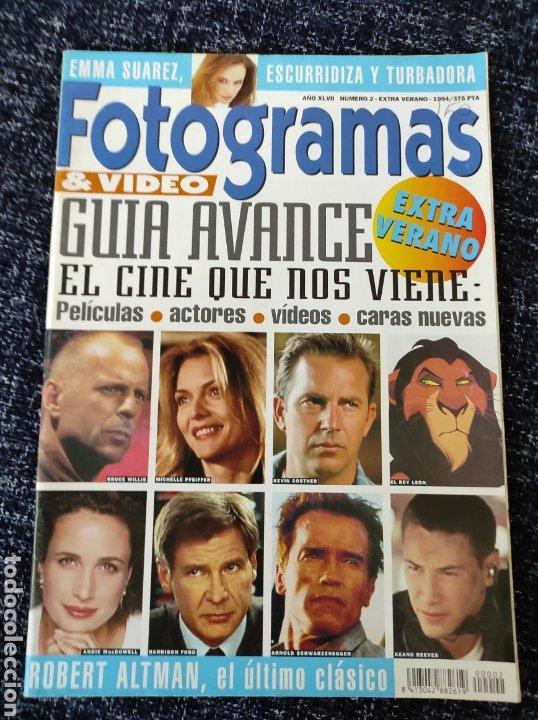 FOTOGRAMAS EXTRA VERANO AÑO 1994 CINE EMMA SUAREZ (Cine - Revistas - Fotogramas)