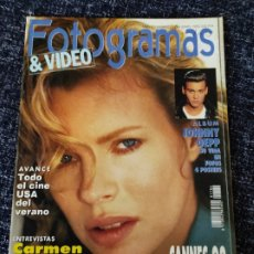 Cine: FOTOGRAMAS Nº 1786 JUNIO 1992 - KIM BASINGER / CARMEN MAURA / JOHNNY DEPP / CANNES. Lote 277619373
