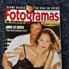 Cine: FOTOGRAMAS Nº. 1813 NOVIEMBRE 1994 - SILVERTER STALLONE / SHARON STONE / VICTORIA ABRIL /MATT DILLON. Lote 277619693