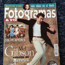 Cine: FOTOGRAMAS N° 1810 AÑO 1994 MEL GIBSON, MADELEINE STINE, LOS PICAPIEDRA. Lote 277620283