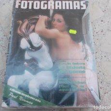 Cine: NUEVO FOTOGRAMAS Nº 1519, ALBUM PAUL NEWMAN, CARMEN, VIAJE AL CINE PORNO I, ROCK HUDSON, LA RABIA. Lote 278178318