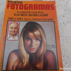 Cine: NUEVO FOTOGRAMAS Nº 1112, INGRID GARBO, ELSA BAEZA-VALERIO LAZAROV, MARTIN RITT, LOUIS DE FOUNES,. Lote 278181248