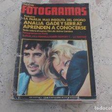 Cine: NUEVO FOTOGRAMAS Nº 1250, ANALIA GADE Y SERRAT, BUÑUEL, POSTER ANALIA GADE, REBERT REDFORD, CAT STE. Lote 278184028