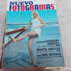 Cine: NUEVO FOTOGRAMAS Nº 1037, CATHERINE DENEUVE, GRACITA MORALES, PAUL NEWMAN, 2001 ODISEA DEL ESPACIO,. Lote 278186308