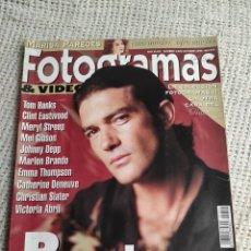 Cine: FOTOGRAMAS Nº 1824 AÑO 1995 - BANDERAS, MARISA PAREDES, EASTWOOD, HANKS. Lote 296001728