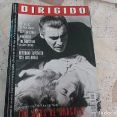Cinema: DIRIGIDO POR Nº 256, ESPECIAL 100 AÑOS DE DRACULA, BERTRAND TAVERNIER, JOSE LUIS BORAU,. Lote 278462853