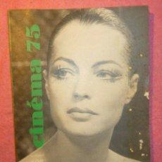 Cine: CINEMA 75 Nº 196 - INGRID BERMAN - PATRICE CHEREAU - PARVIZ KIMIAVI. Lote 278478598