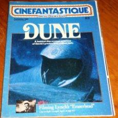 Cine: CINEFANTASTIQUE - SEPTIEMBRE 1984 - DUNE - REVISTA CINE FANTÁSTICO Y TERROR - EN INGLÉS. Lote 278522468