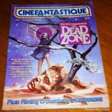 Cine: CINEFANTASTIQUE - DICIEMBRE 1983 / ENERO 1984 - REVISTA CINE FANTÁSTICO Y TERROR - EN INGLÉS. Lote 278524228