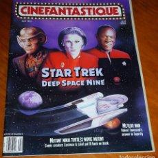 Cine: CINEFANTASTIQUE - ABRIL 1993 - STAR TREK - REVISTA CINE FANTÁSTICO Y TERROR - EN INGLÉS. Lote 278525168
