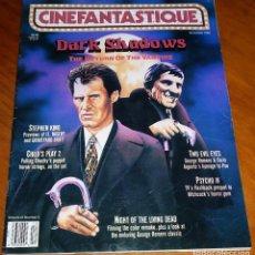 Cine: CINEFANTASTIQUE - DICIEMBRE 1990 - DARK SHADOWS - REVISTA CINE FANTÁSTICO Y TERROR - EN INGLÉS. Lote 278525848